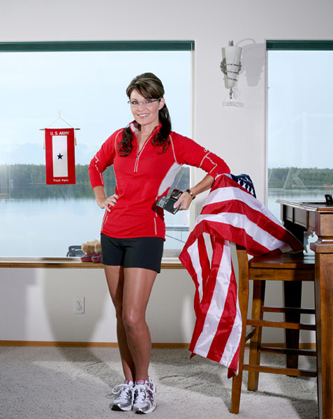 Governor Palin, from the Runner's World shoot.